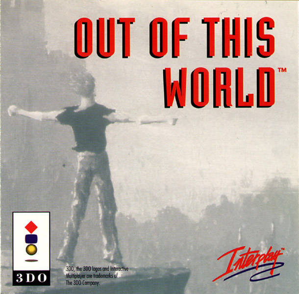 Front boxart of the game Another World (Europe) on 3DO