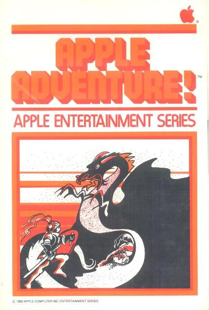 Front boxart of the game Adventure (United States) on Apple II