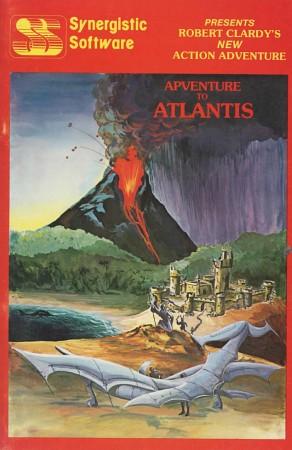 Front boxart of the game Adventure To Atlantis on Apple II
