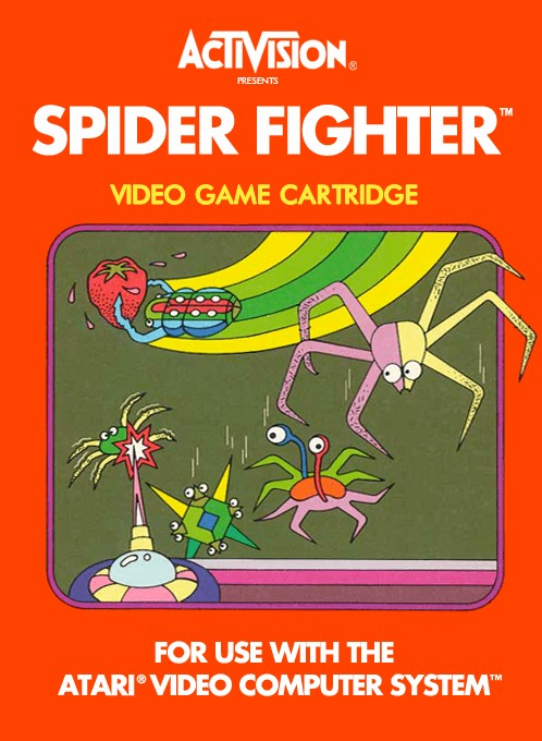 Front boxart of the game Spider Fighter (Europe) on Atari 2600