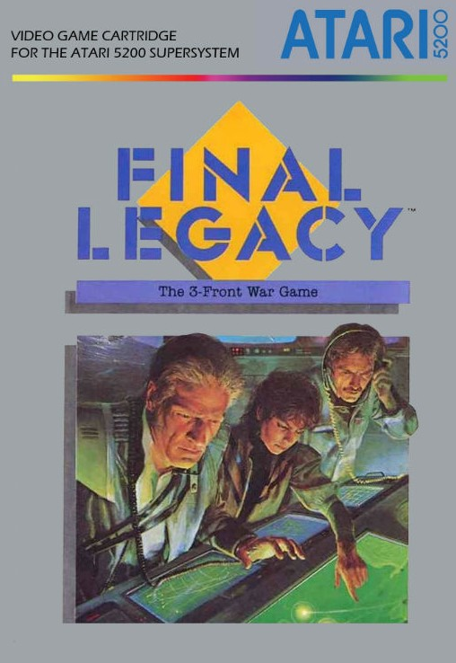 Front boxart of the game Final Legacy (United States) on Atari 5200