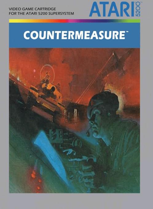 Front boxart of the game Countermeasure (Europe) on Atari 5200