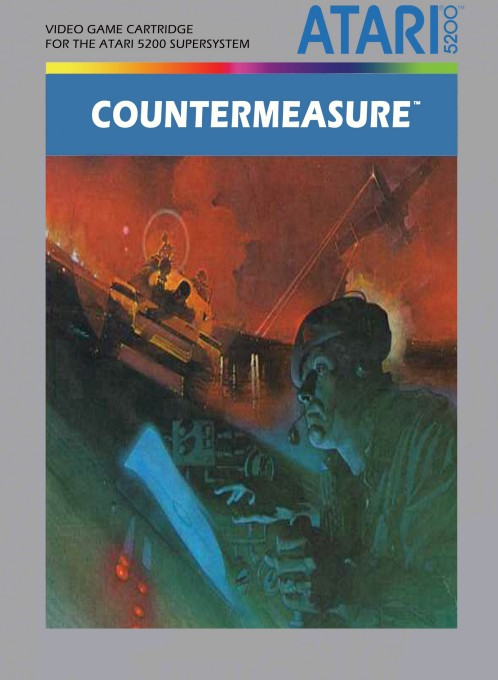 Front boxart of the game Countermeasure (United States) on Atari 5200