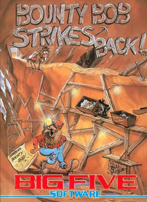 Front boxart of the game Bounty Bob Strikes Back (United States) on Atari 5200