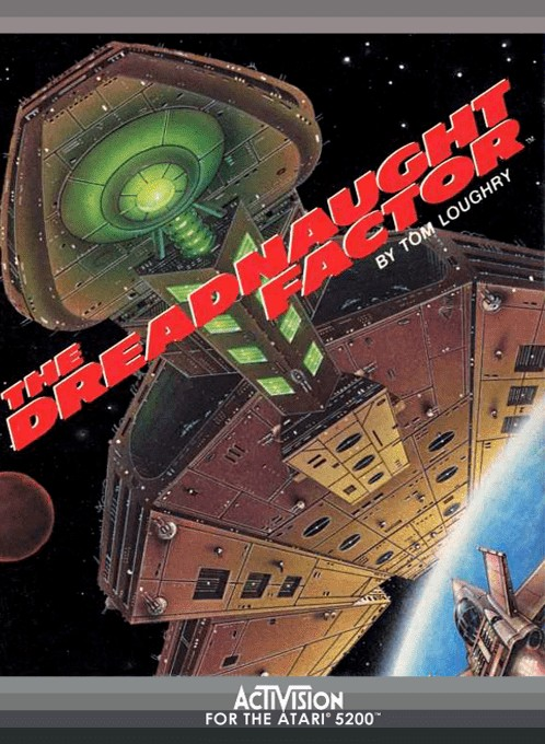 Front boxart of the game Dreadnaught Factor, The (Europe) on Atari 5200