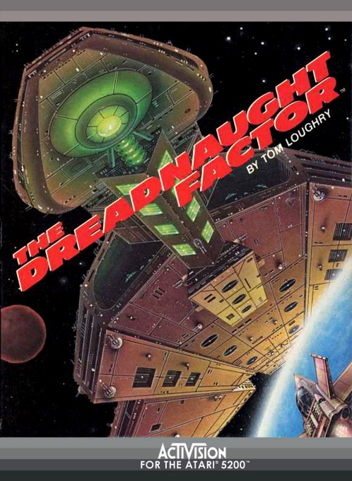 Front boxart of the game Dreadnaught Factor, The (United States) on Atari 5200