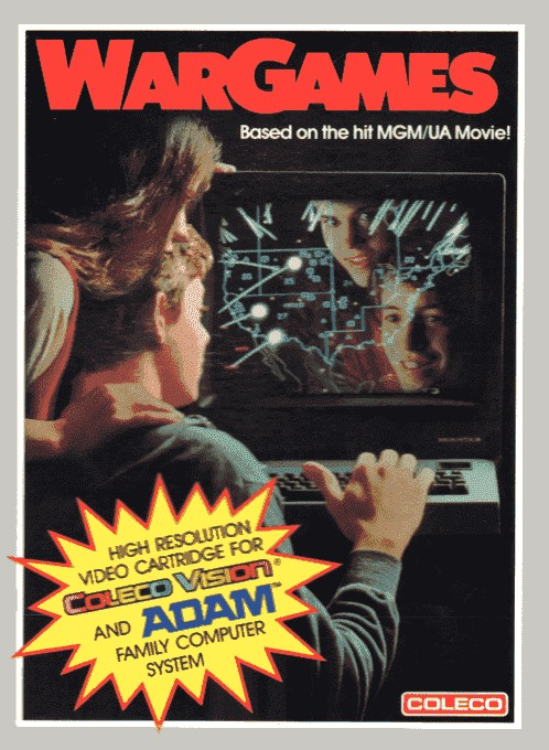 Front boxart of the game War Games (United States) on Coleco Industries Colecovision
