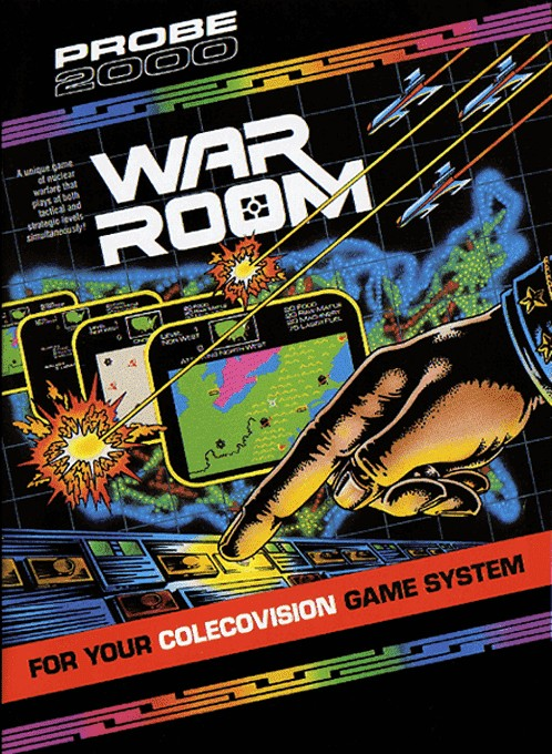 Front boxart of the game War Room (United States) on Coleco Industries Colecovision