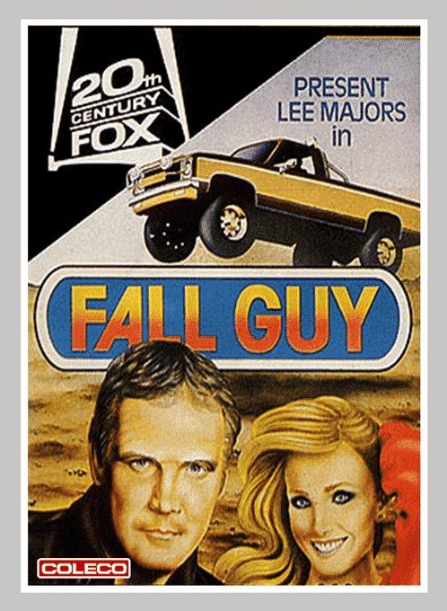 Front boxart of the game Fall Guy (United States) on Coleco Industries Colecovision