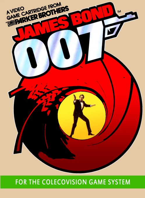 Front boxart of the game James Bond 007 (United States) on Coleco Industries Colecovision