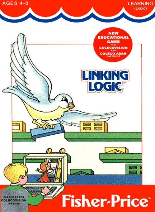Front boxart of the game Linking Logic (United States) on Coleco Industries Colecovision