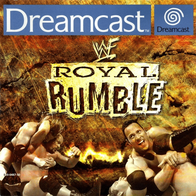 Front boxart of the game WWF Royal Rumble (Europe) on Sega Dreamcast