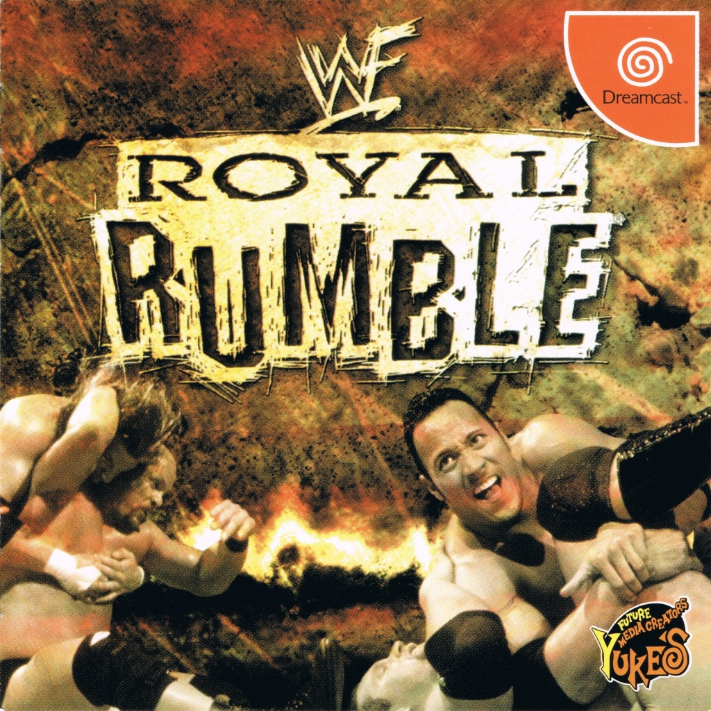 Front boxart of the game WWF Royal Rumble (Japan) on Sega Dreamcast