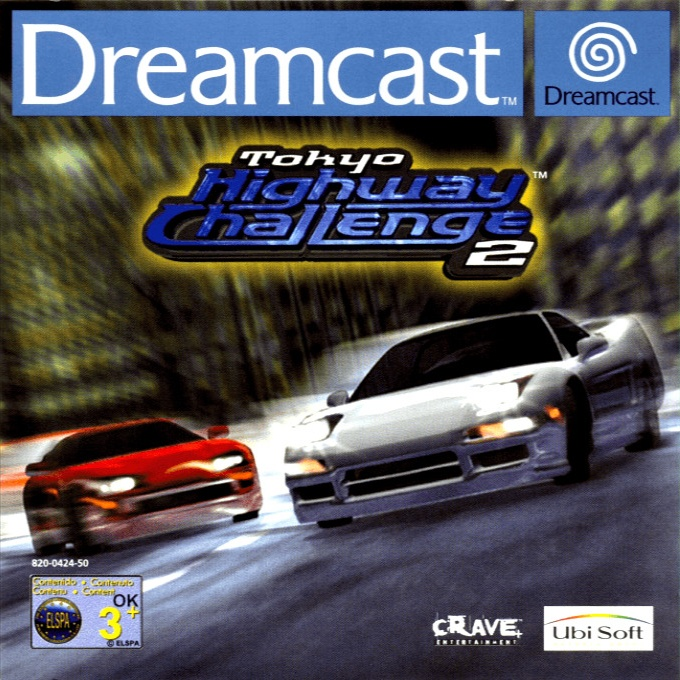 Front boxart of the game Tokyo Highway Challenge 2 (Europe) on Sega Dreamcast
