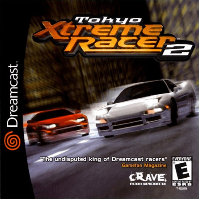 Front boxart of the game Tokyo Highway Challenge 2 (United States) on Sega Dreamcast