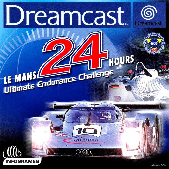 Front boxart of the game Le Mans 24 Hours (Europe) on Sega Dreamcast