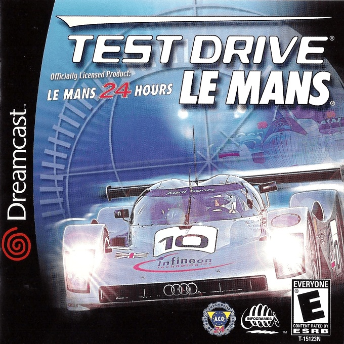 Front boxart of the game Le Mans 24 Hours (United States) on Sega Dreamcast