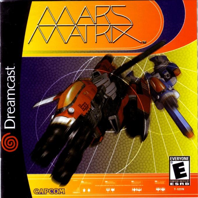 Front boxart of the game Mars Matrix (United States) on Sega Dreamcast