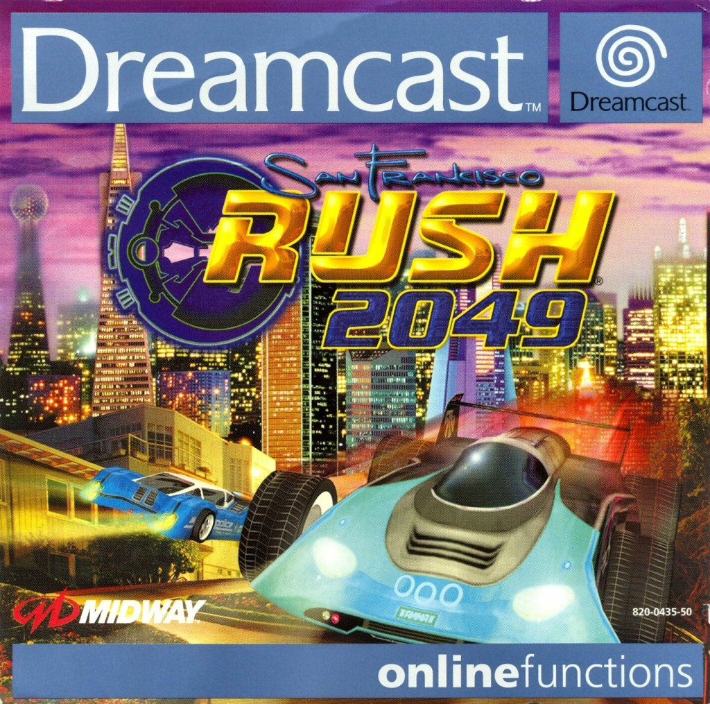 Front boxart of the game San Francisco Rush 2049 (Europe) on Sega Dreamcast