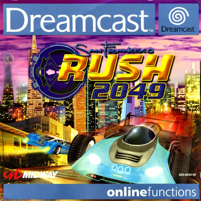 Front boxart of the game San Francisco RUSH 2049 (France) on Sega Dreamcast
