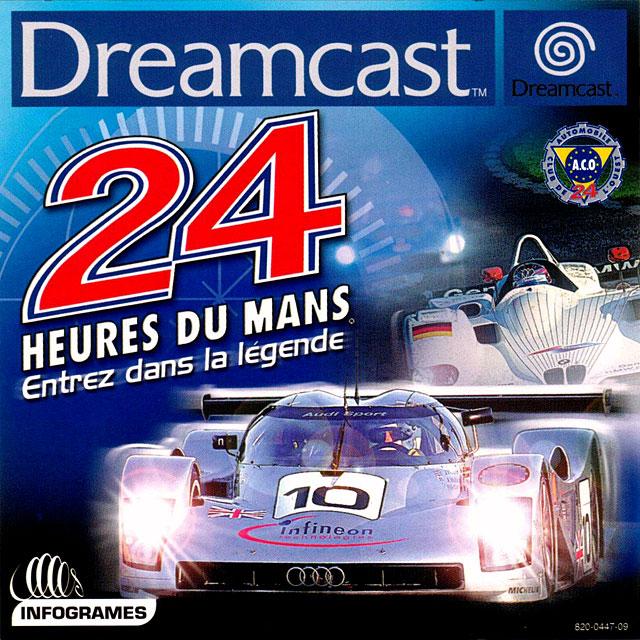 Front boxart of the game 24 Heures du Mans (France) on Sega Dreamcast