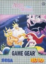 Front boxart of the game Ariel - The Little Mermaid (Brazil) on Sega Game Gear