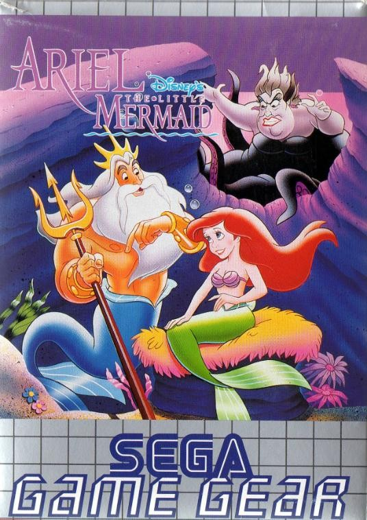 Front boxart of the game Ariel - The Little Mermaid (Europe) on Sega Game Gear