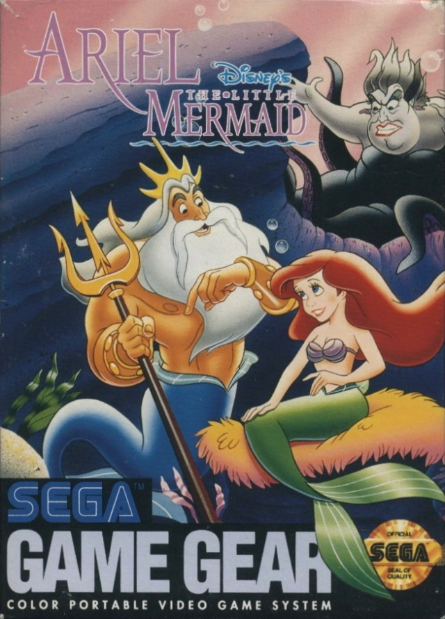 Front boxart of the game Ariel - The Little Mermaid (United States) on Sega Game Gear