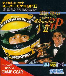 Front boxart of the game Ayrton Senna's Super Monaco GP II (Japan) on Sega Game Gear