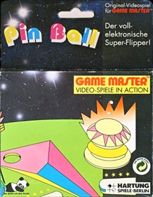 Front boxart of the game Pin Ball (Germany) on Videojet / Hartung Game Master