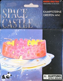 Front boxart of the game Space Castle (Germany) on Videojet / Hartung Game Master