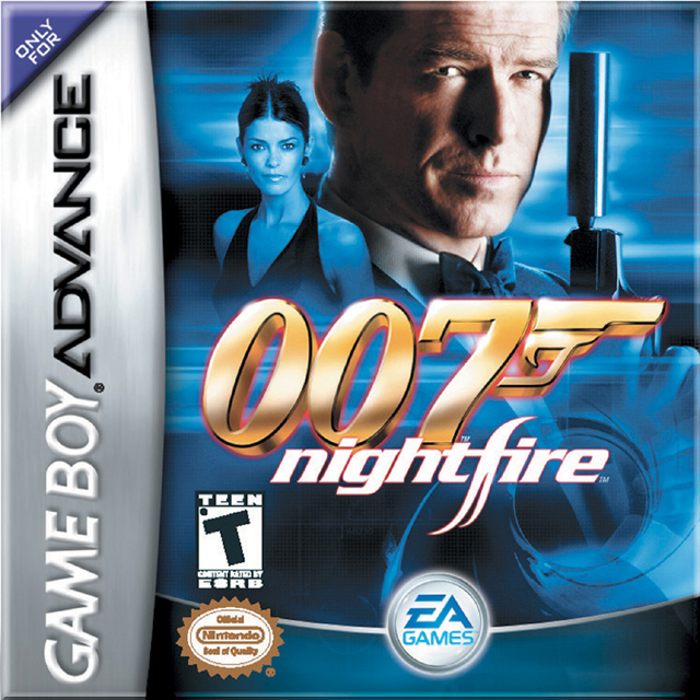 Front boxart of the game 007 - NightFire (United States) on Nintendo GameBoy Advance