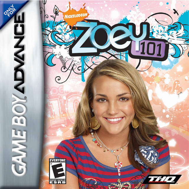 Front boxart of the game Zoey 101 (United States) on Nintendo GameBoy Advance