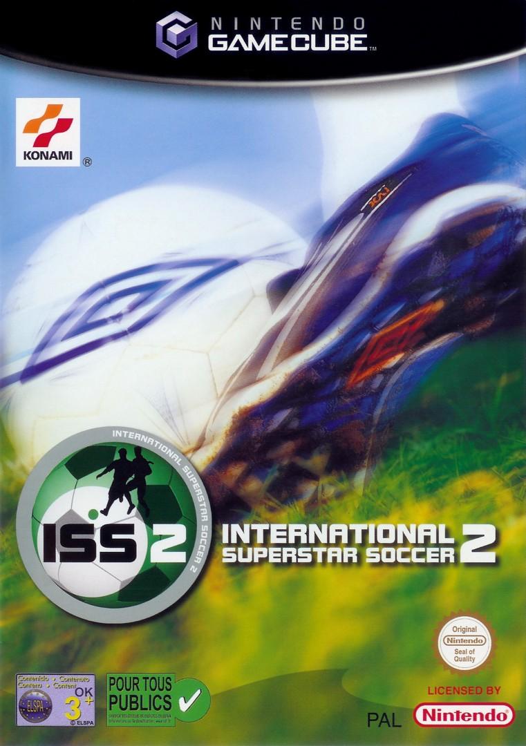 Front boxart of the game International Superstar Soccer 2 (Europe) on Nintendo GameCube