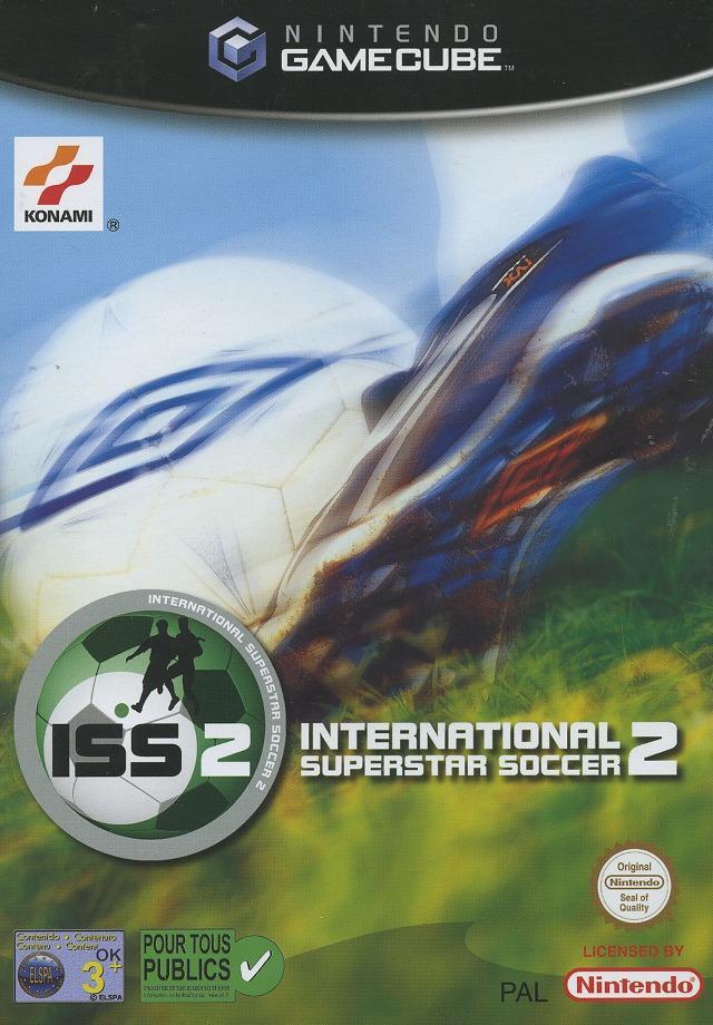 Front boxart of the game International Superstar Soccer 2 (France) on Nintendo GameCube