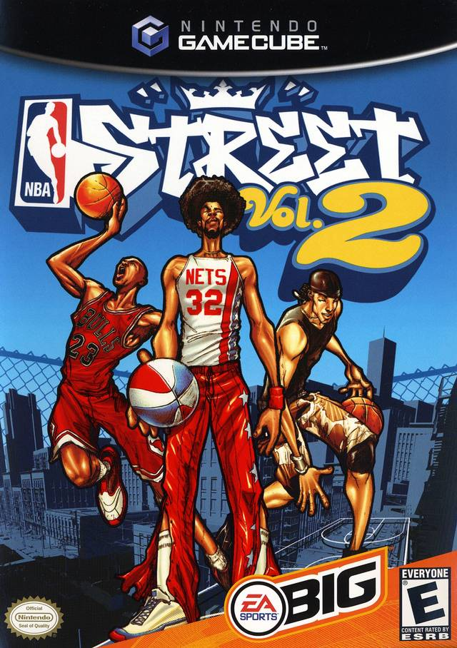 Front boxart of the game NBA Street Vol. 2 (United States) on Nintendo GameCube