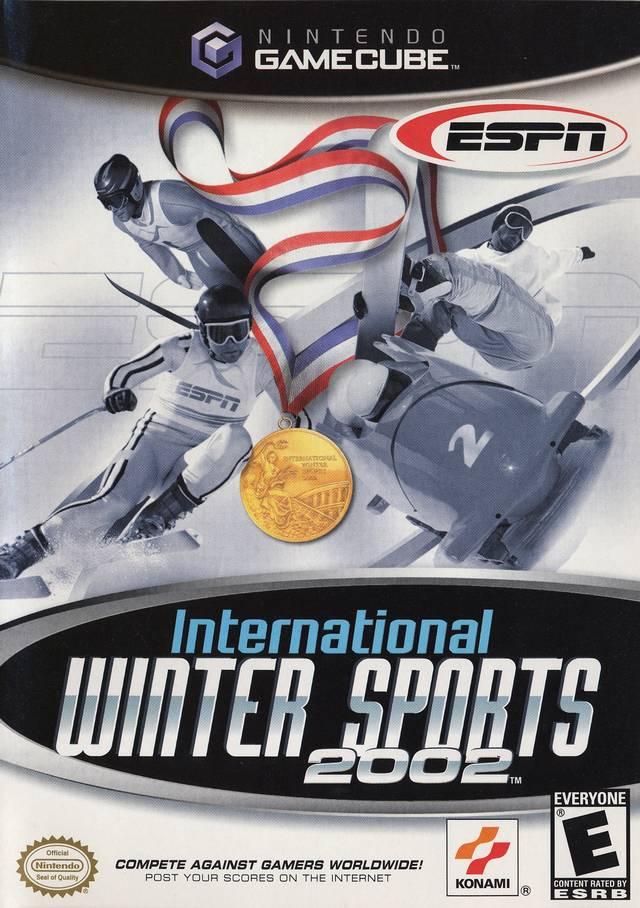 Front boxart of the game ESPN International Winter Sports (United States) on Nintendo GameCube