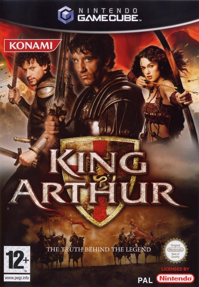 Front boxart of the game King Arthur (France) on Nintendo GameCube