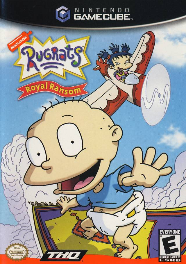 Front boxart of the game Rugrats - Royal Ransom (United States) on Nintendo GameCube