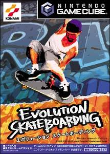 Front boxart of the game Evolution Skateboarding (Japan) on Nintendo GameCube