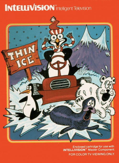 Front boxart of the game Duncan's Thin Ice (United States) on Mattel Intellivision