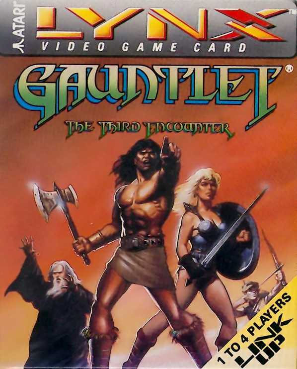 Front boxart of the game Gauntlet - The Third Encounter (United States) on Atari Lynx
