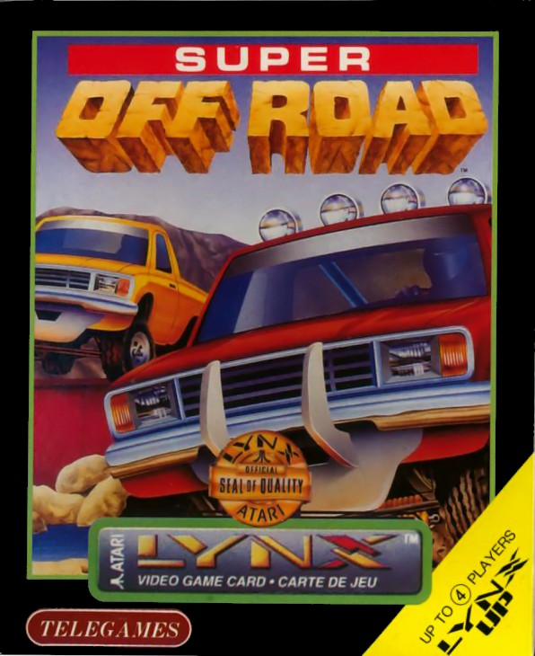 Front boxart of the game Super Off-Road (United States) on Atari Lynx