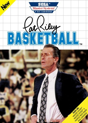 Front boxart of the game Pat Riley Basketball on Sega Master System