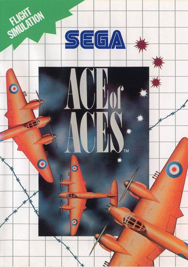 Front boxart of the game Ace of Aces (Europe) on Sega Master System
