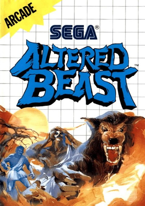 Front boxart of the game Altered Beast (United States) on Sega Master System