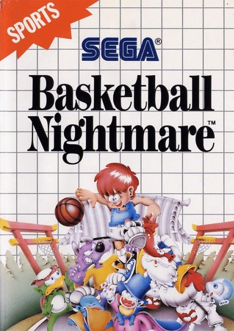 Front boxart of the game Basket Ball Nightmare (Europe) on Sega Master System