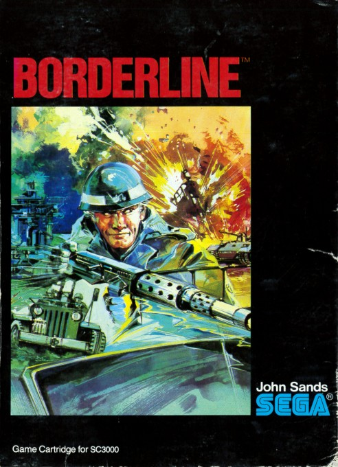 Front boxart of the game Borderline (Australia) on Sega Master System