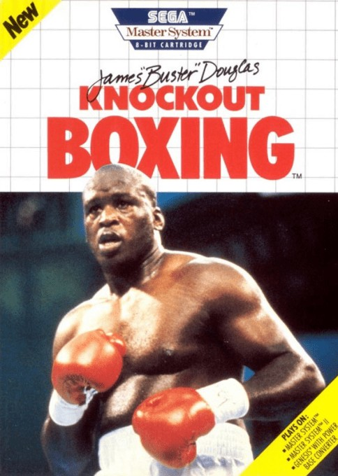 Front boxart of the game James 'Buster' Douglas Knockout Boxing (United States) on Sega Master System