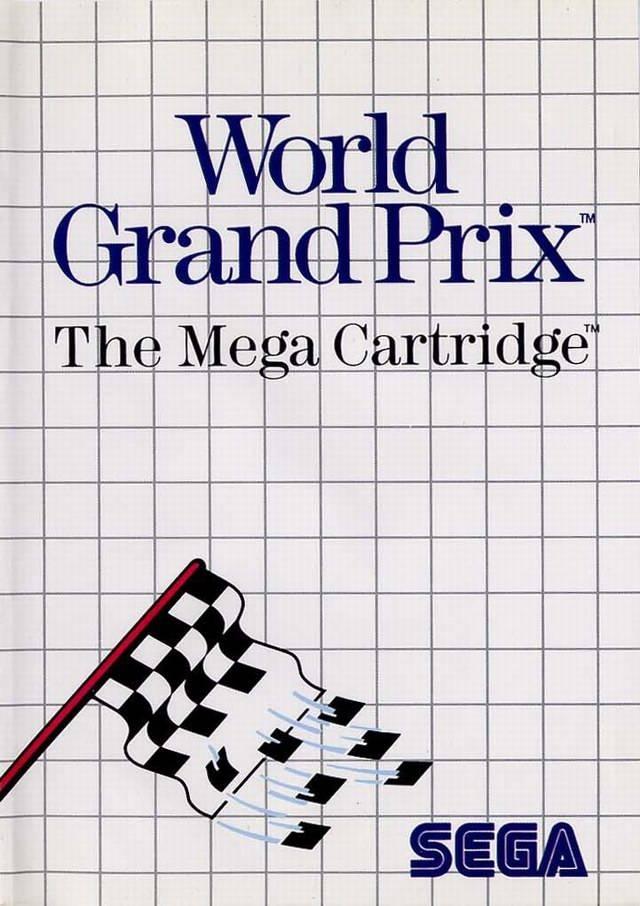 Front boxart of the game World Grand Prix (Europe) on Sega Master System
